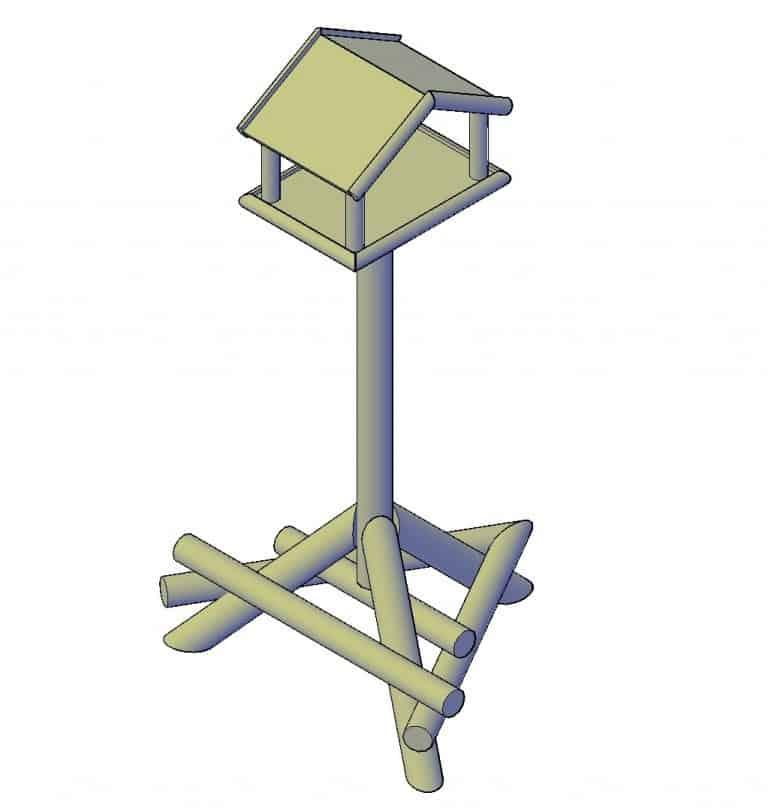 Vogelvoederhuisje maken