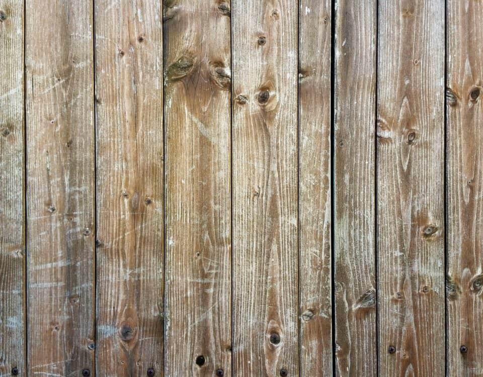houtbouwklus schutting