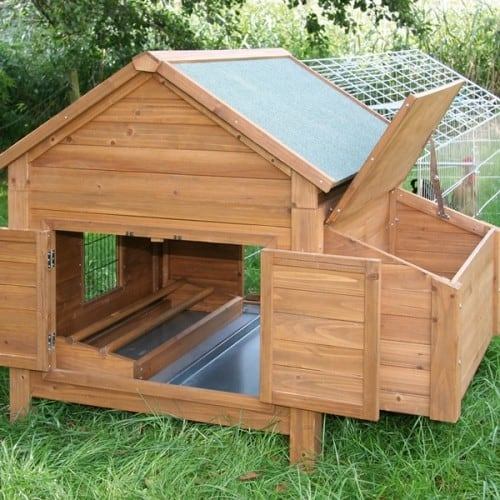 zelf kippenhok maken bouwtekening