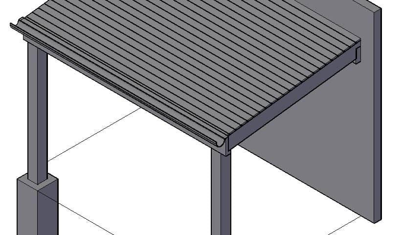 Overkapping bouwen dit is hoe je dat doet - Hoe een overdekt terras te bouwen ...