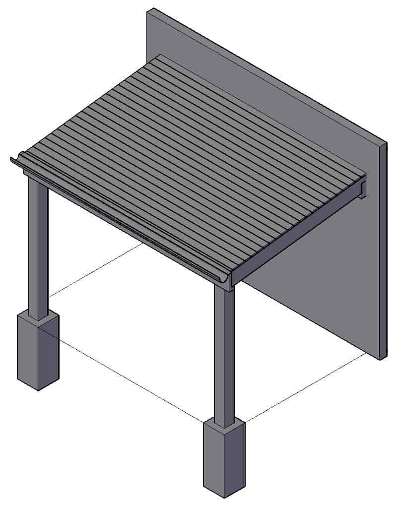 overkapping terras zelf maken