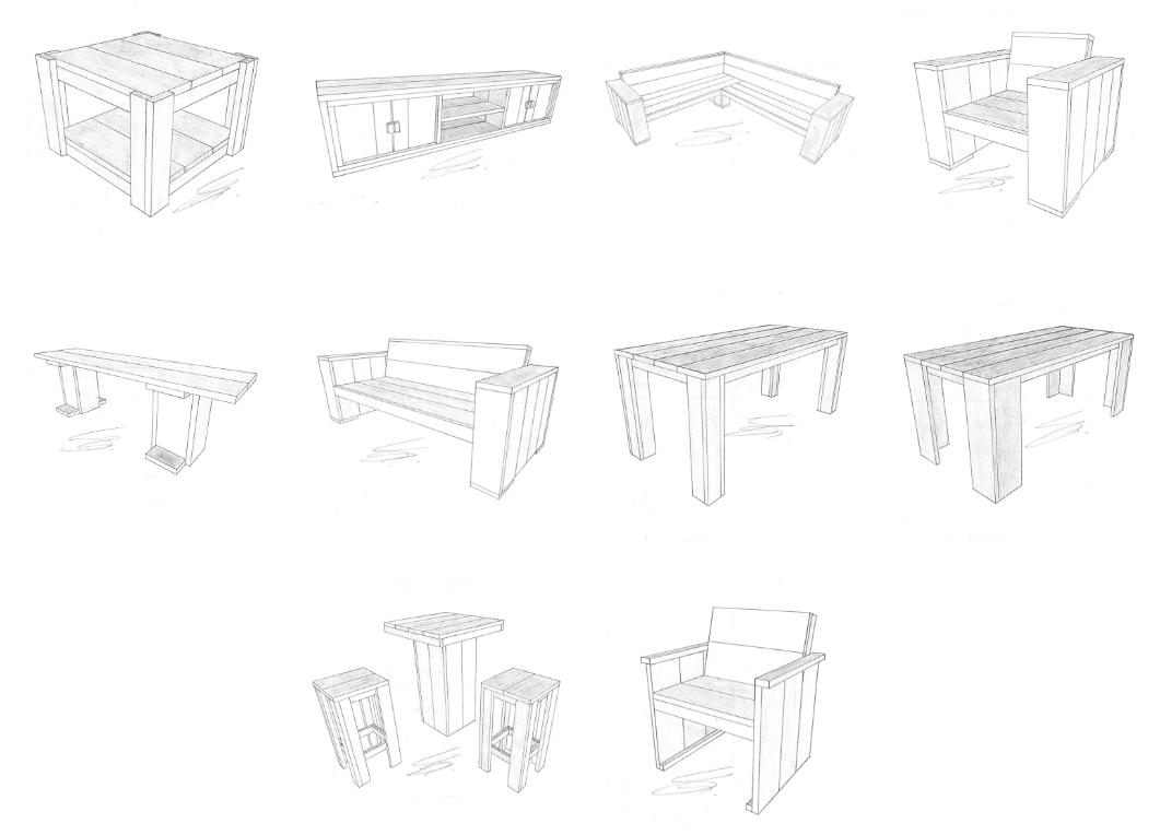 bouwtekeningen steigerhout downloaden