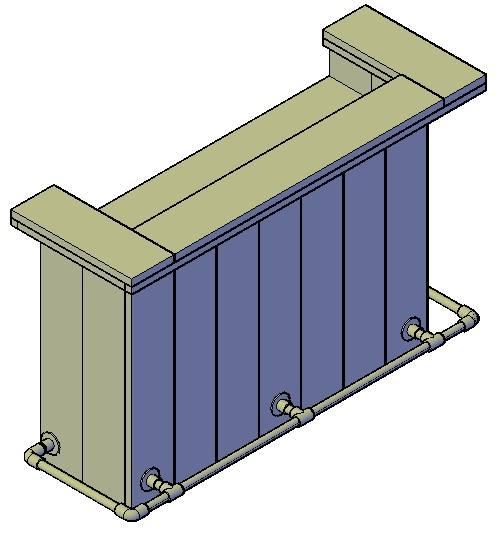 bouwtekening kleine steigerhout bar downloaden