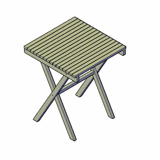 Steigerhouten tafel maken bekijk hier wat er mogelijk is for Opklapbare tafel