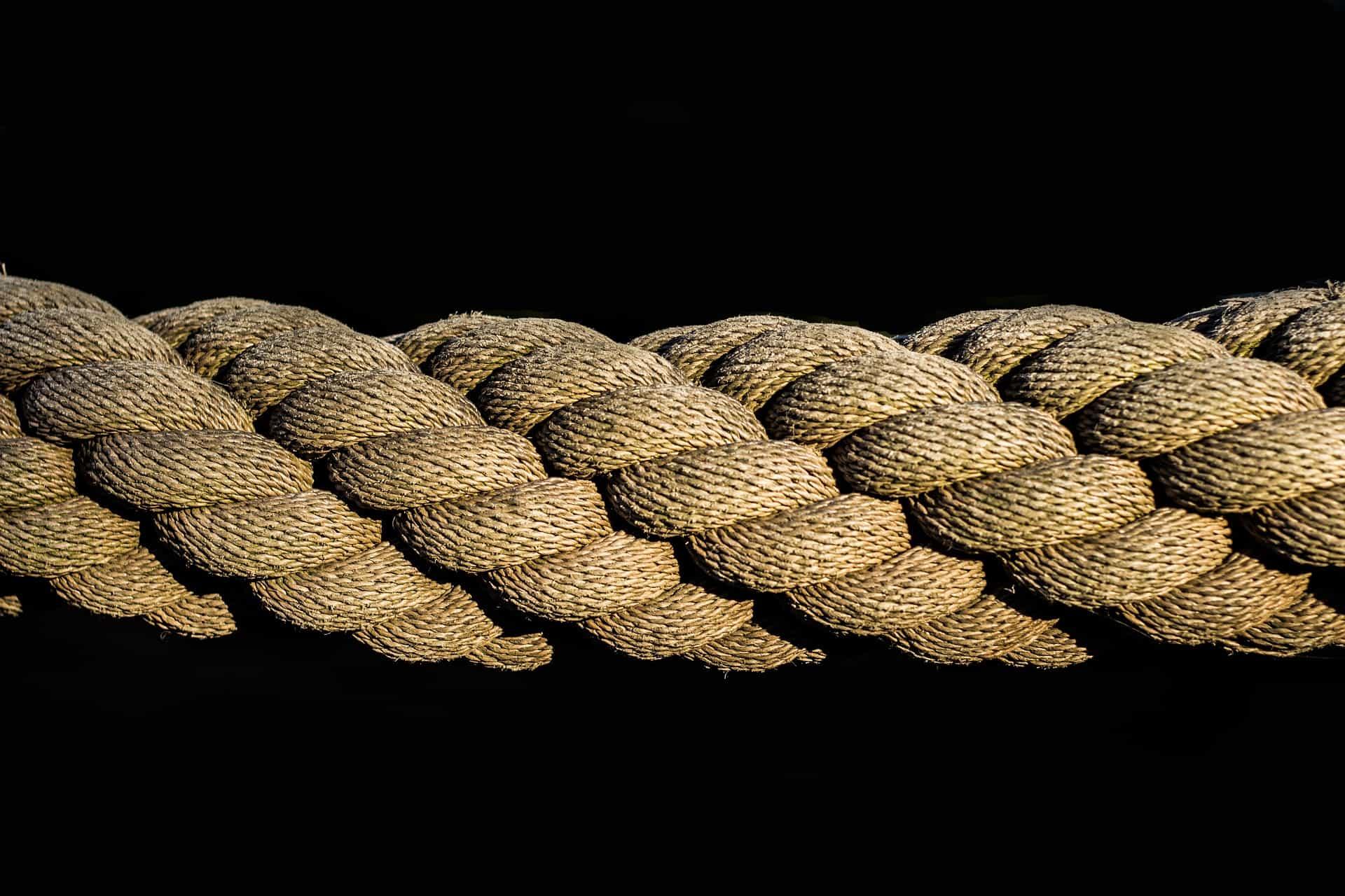 schommelbank maken touw van een schommel