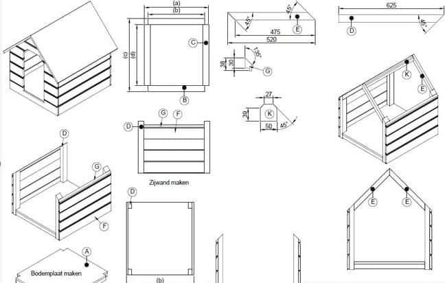 hondenhok maken bouwtekening pdf download