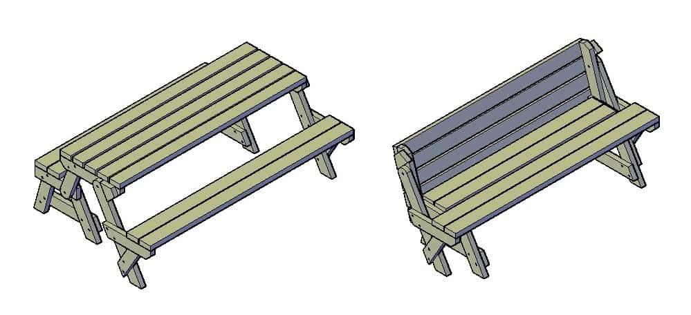 inklapbare-picknicktafel-bouwtekening