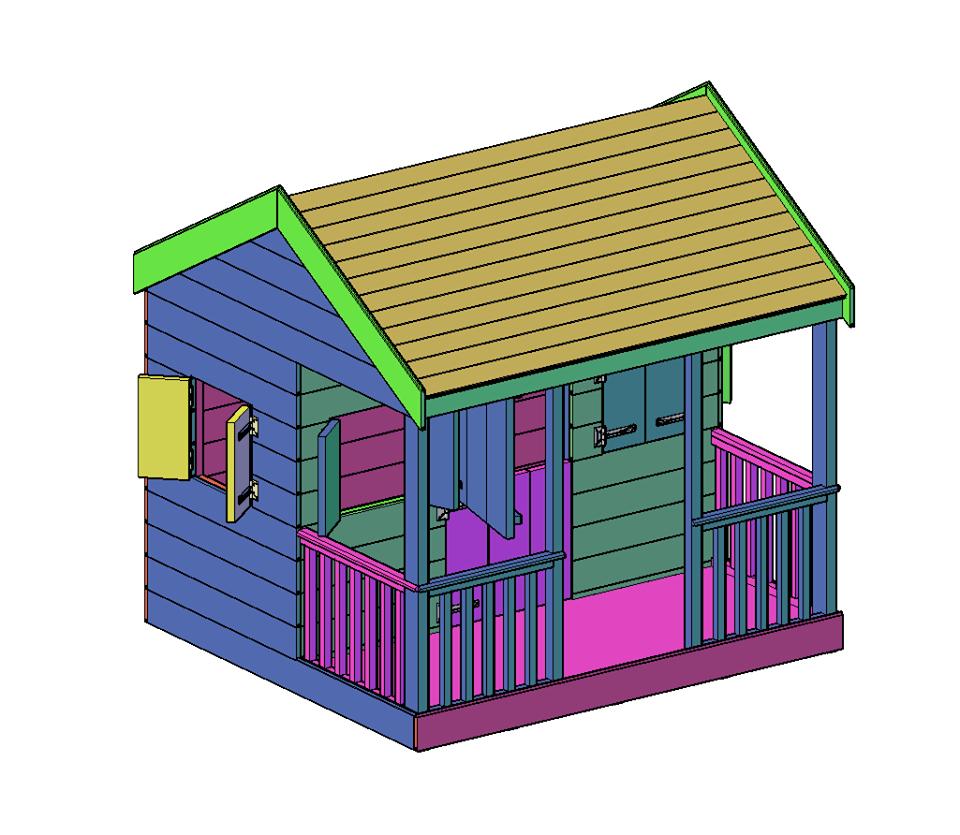 bouwtekening speelhuisje pdf