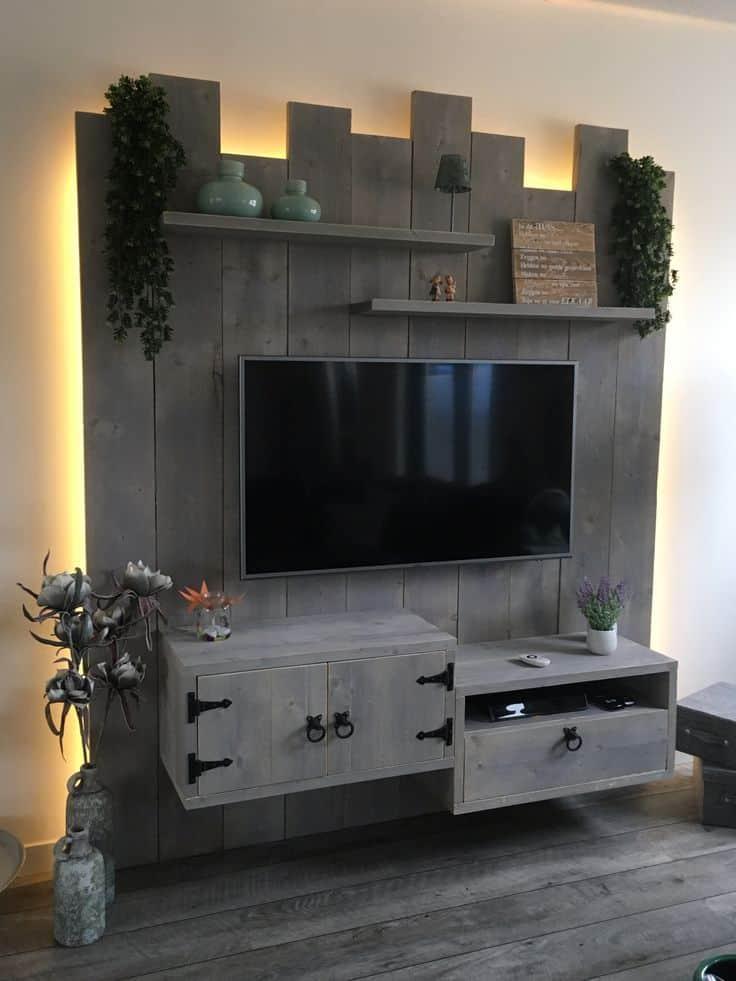 tv meubel steigerhout maken bouwtekening pdf download