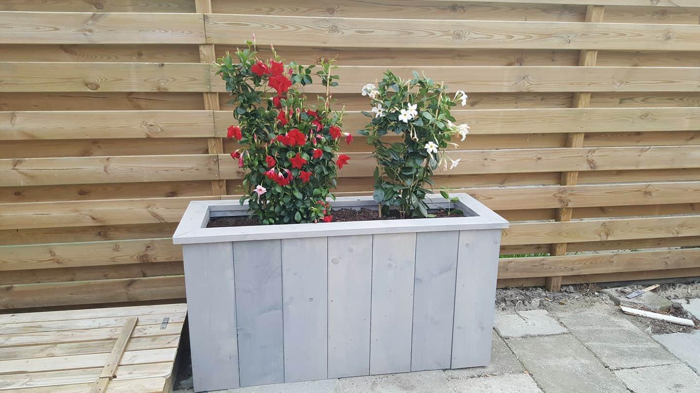 slim tuinonderhoud voorbeeld bloembak maken