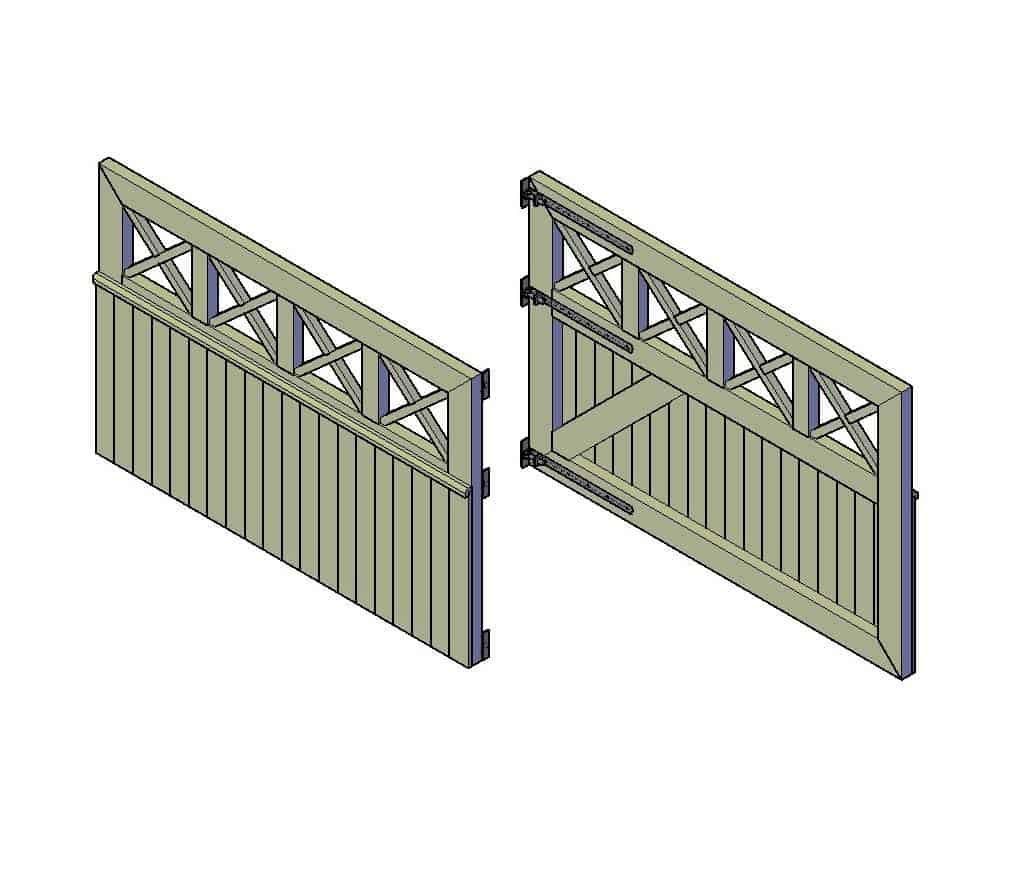 houten poort maken bouwtekening pdf