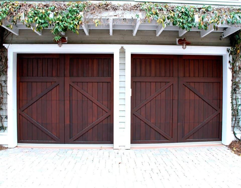 houten garagedeuren maken doe het zelf