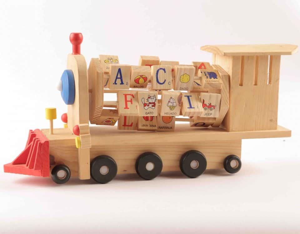 houten speelgoed maken tekeningen