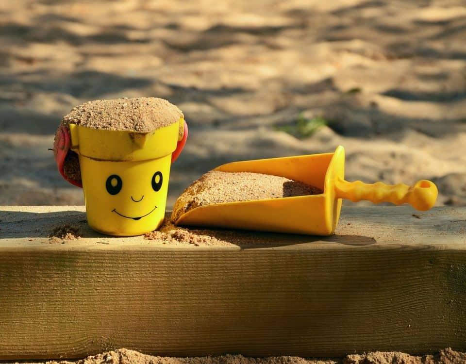 houten zandbak maken