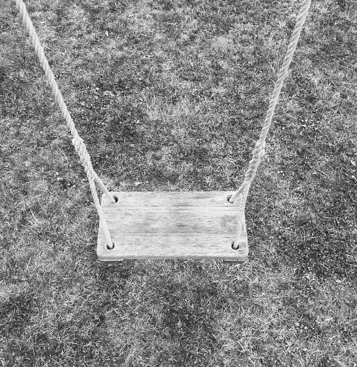 houten schommel maken zitje