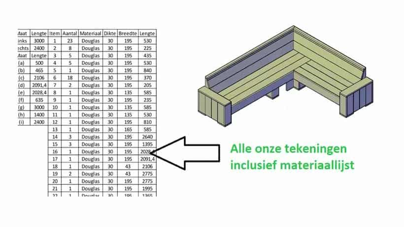 bouwtekeningen tuinbank steigerhout download pdf