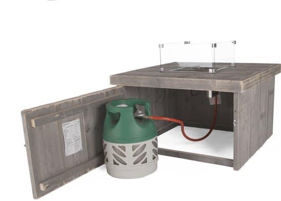 vuurtafel steigerhout kopen op gas aanbieding