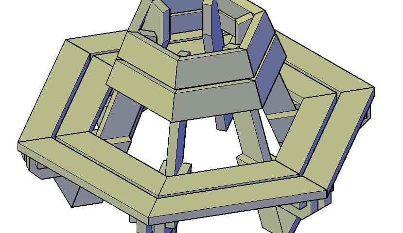 Boombank steigerhout maken bouwtekening pdf