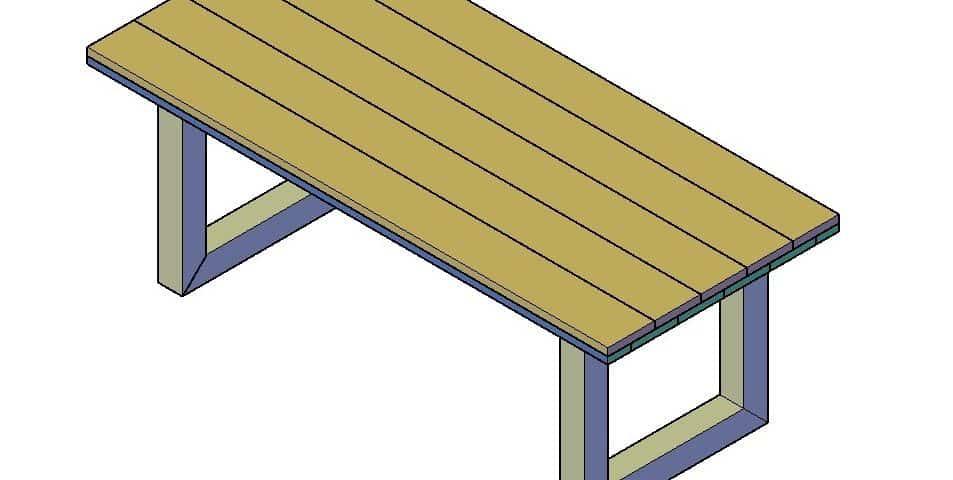 Steigerhouten tafel youtube