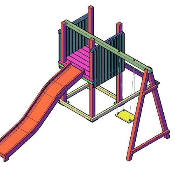 zelf speeltoestel maken bouwtekening 1