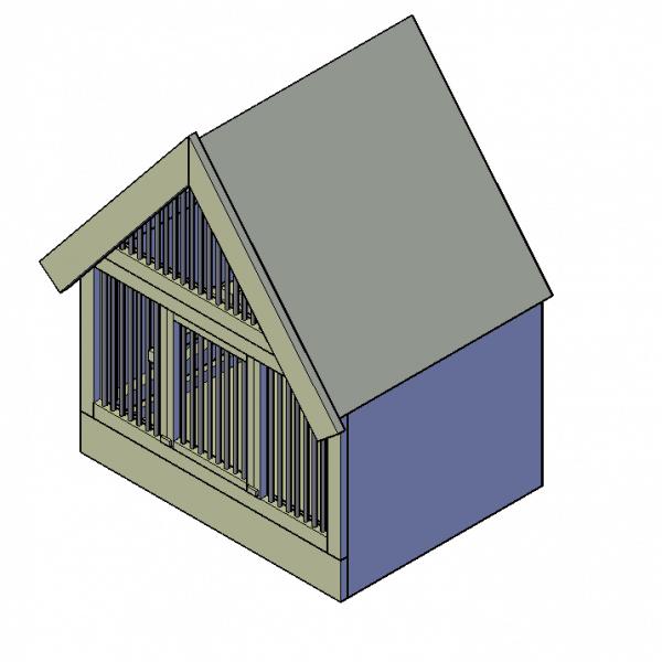 bouwtekening duivenhok bouwen