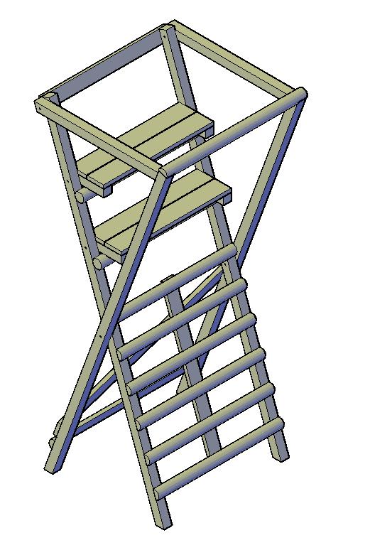 jachtkansel hoogzit bouwtekening pdf