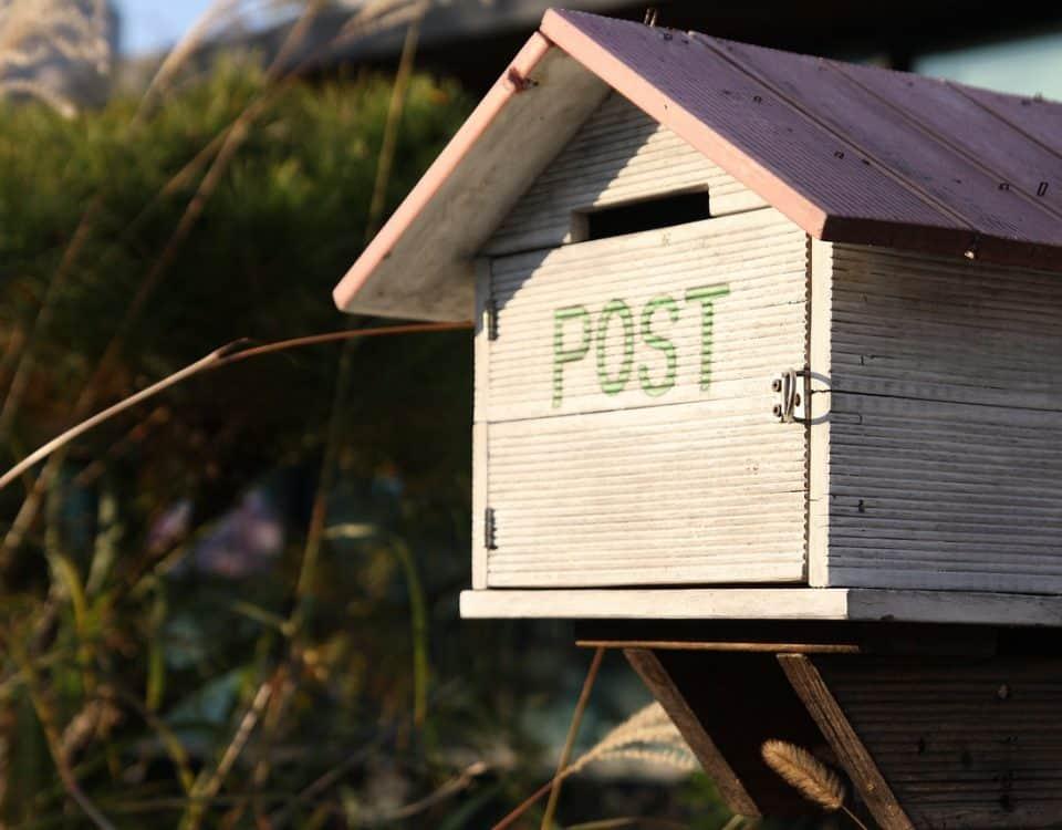 steigerhouten brievenbus maken