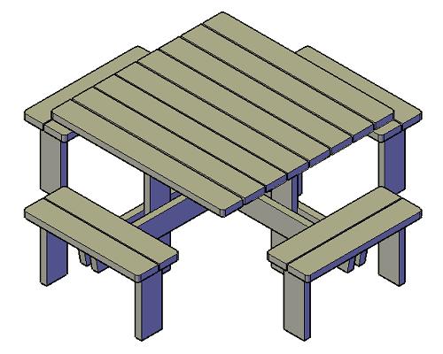 ronde-vierkante-picknicktafel-8-personen